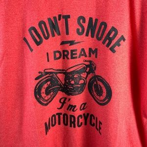 T-Shirt XL  I Dream Im a Motorcycle